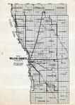 Wilkins County Map, Wilkin County 1922